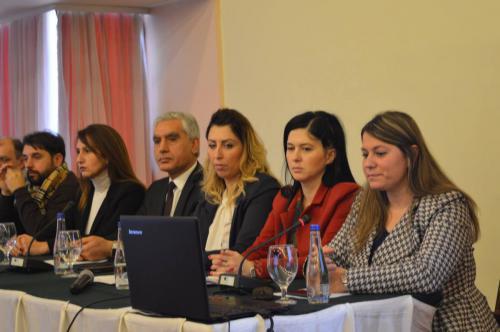 """Завршна конференција на проектот """" Зголемено вклучување на граѓанското општество во процесот на донесување одлуки од областа на животна средина"""""""
