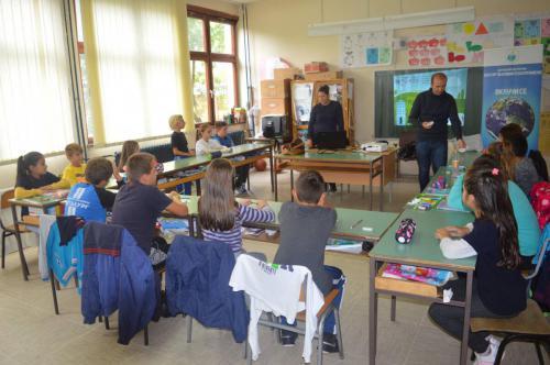 Акција за правилна селекција на отпад во Општина Македонска Каменица