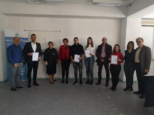 """Презентација на иновативните идеи на тема: """"Циркуларна економија и одржлив индустриски развој"""""""